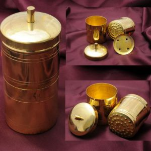Traditional Brass Coffee Filter