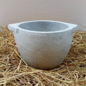 Traditional Soapstone  Kal Chatti Of 2.5 Litre