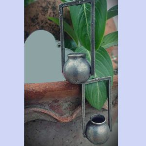 Original German Silver Handi Style Earrings - Free Delivery All Over India