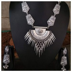 EcoHindu-Tribal-Designe-Oxidize-Necklace-handmade-oxidize-jewellery-26september