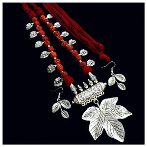 ecohindu-Leaf-And-Rudraksha-Necklace-25september