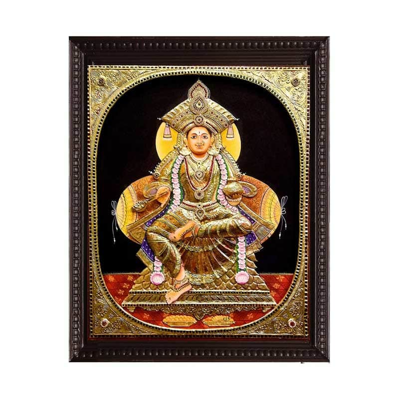 Annapurna Tanjore Painting - (Made to Order)