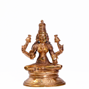 SITTING LAKSHMI BRONZE IDOL
