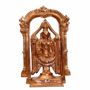 Balaji with Thiruvachi Idol