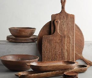 Wooden Kitchenware sets